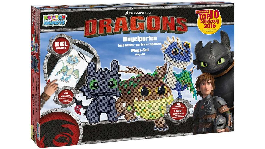 CRAZE Rainbow Beadys Mega Set Dragons