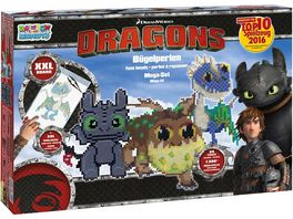 CRAZE Rainbow Beadys Mega Set Dragons