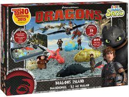 CRAZE Magic Sand Dragons Dragons Island ca 800g Sand