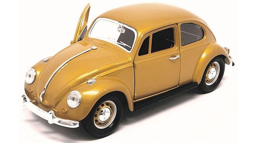 Lucky Die Cast VW Kaefer 1967 1 24 gold