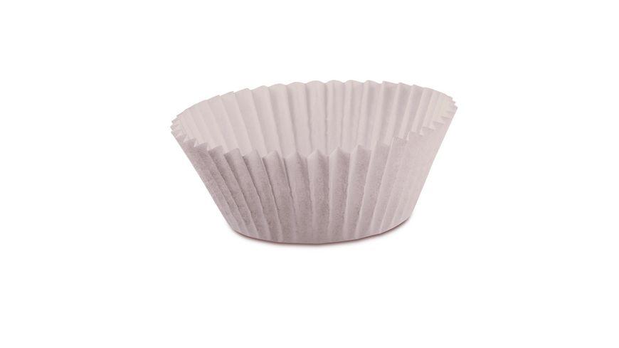 KAISER Muffin Papierbackfoermchen weiss 200 Stk 4 5 cm