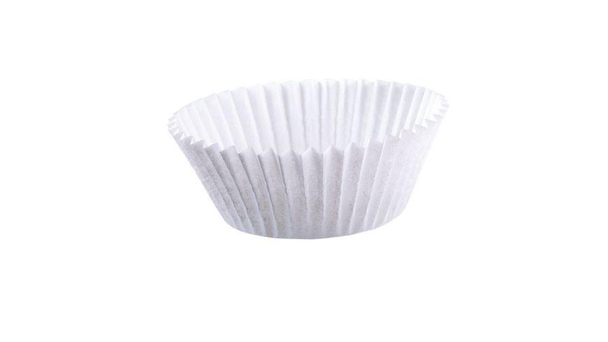 KAISER Muffin Papierbackfoermchen weiss 200 Stk 7 cm