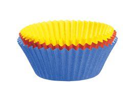 KAISER Muffin Papierbackfoermchen farbig 150 Stk 7 cm