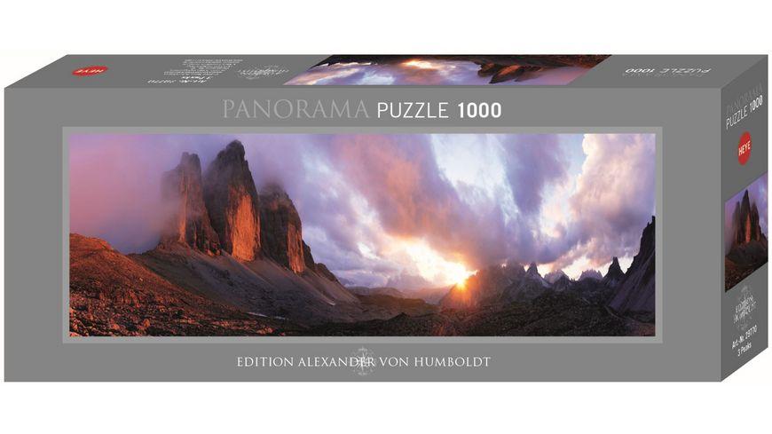 Heye Standardpuzzle 1000 Teile Edition Alexander von Humboldt 3 Peaks