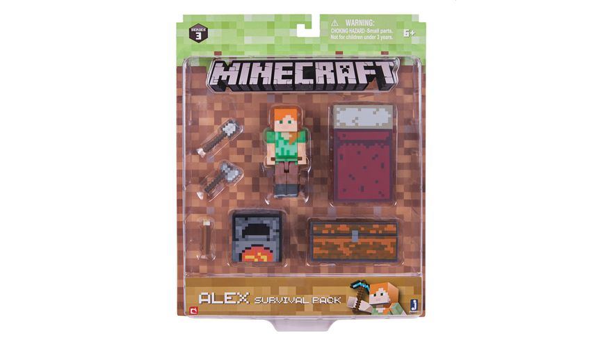 Jazwares Minecraft Survival Pack