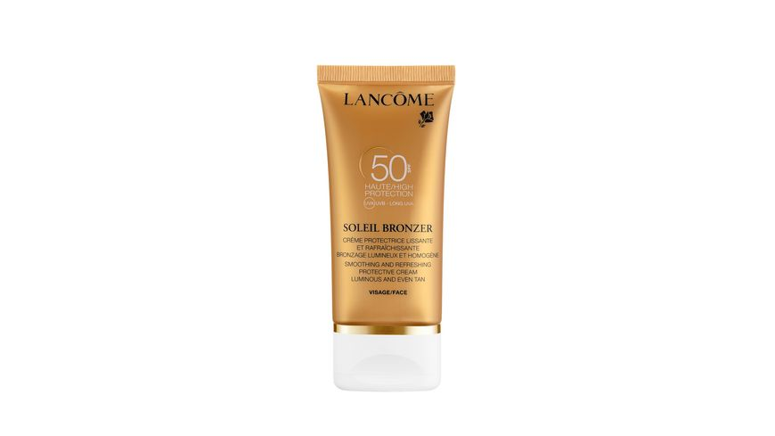 LANCOME Soeill Bronzer Dry Touch Visage LSF 50 Selbstbraeunungscreme