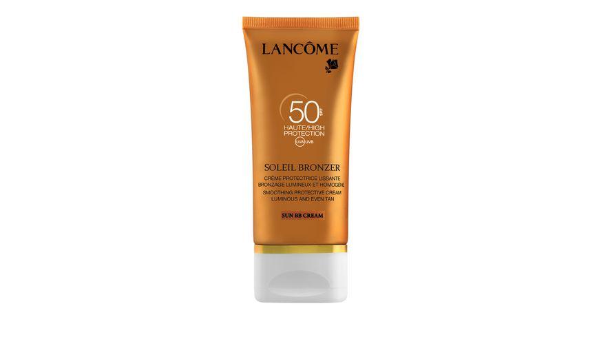 LANCOME Soleil Bronzer Creme Visage BB LSF 50 Sonnencreme