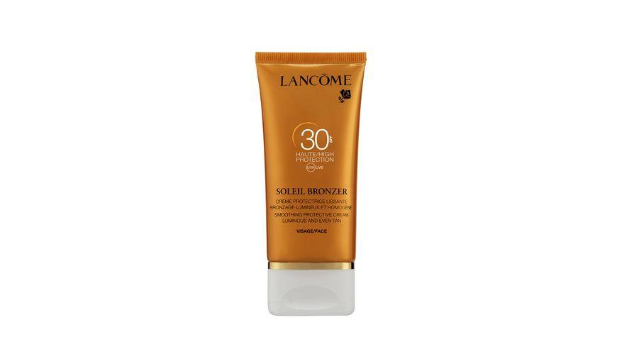LANCOME Soleil Bronzer Creme Visage LSF 30 Sonnencreme