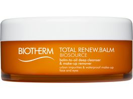 BIOTHERM Biosource Balsam in Oel Make up Entferner