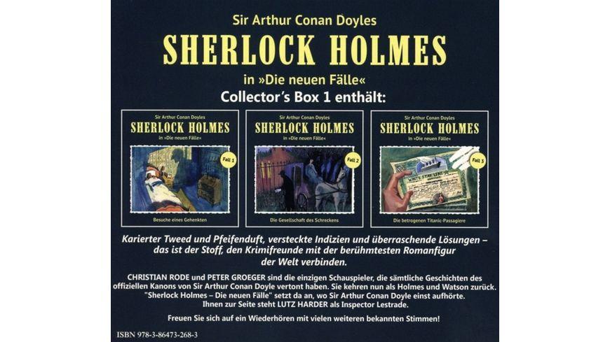 Die Neuen Faelle Collector s Box 1 3 CDs