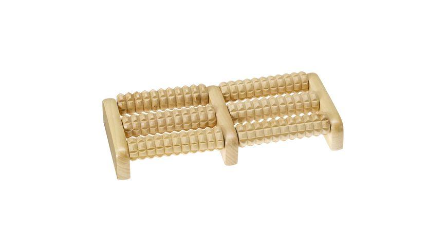 Fussmassage Roller aus Holz