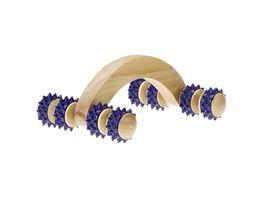 Handmassage Roller aus Holz