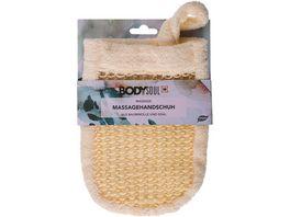 BODY SOUL Massagehandschuh aus Sisal und Baumwolle