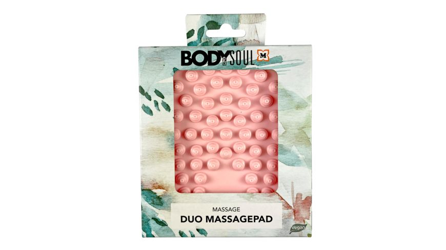 Duo Massagepad mit Noppen