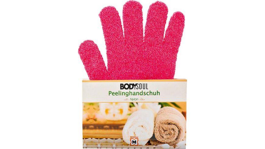 BODY SOUL Peeling Handschuhe Nylon verschiedene Farben