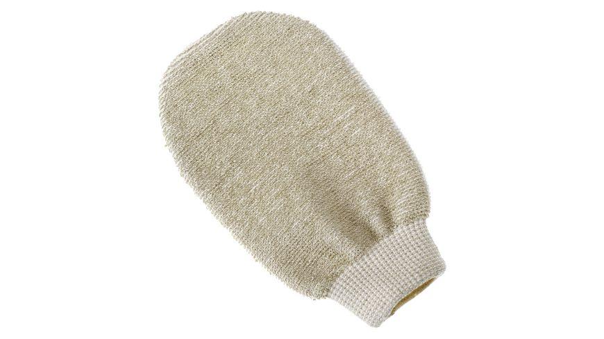 riffi Massage Handschuh OeKOe Bambus Leinen