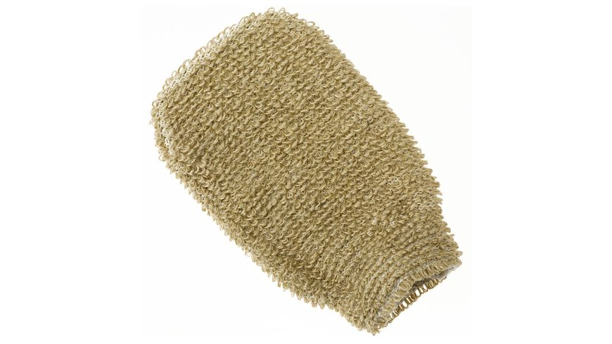 riffi Massage Handschuh Flachsbraun