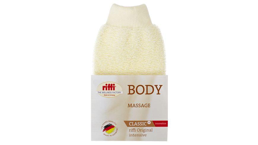 riffi Massage Handschuh Innovation beige