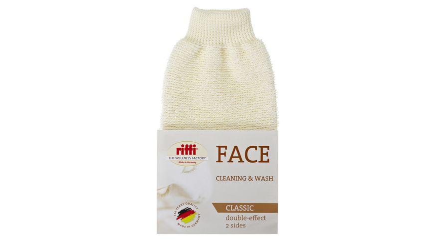 riffi Gesichtspflege Handschuh clean care