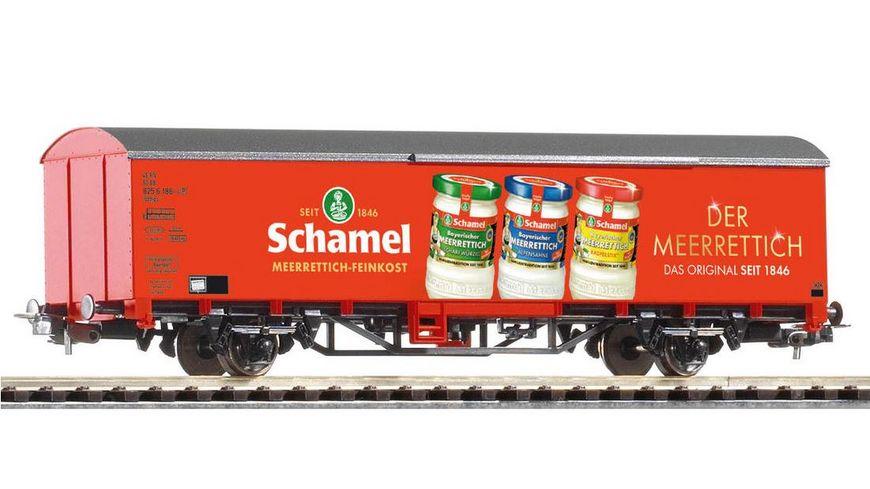 PIKO 58728 Gedeckter Gueterwagen Schamel