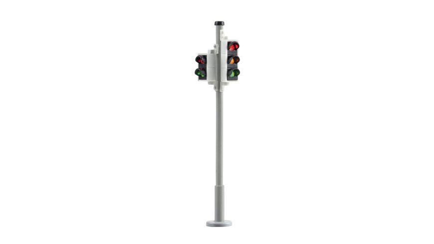 Viessmann 5095 H0 Verkehrsampel mit Fussgaengerampel und LEDs 2 Stueck