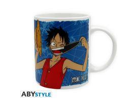 One Piece Luffy Emblem Tasse 320 ml