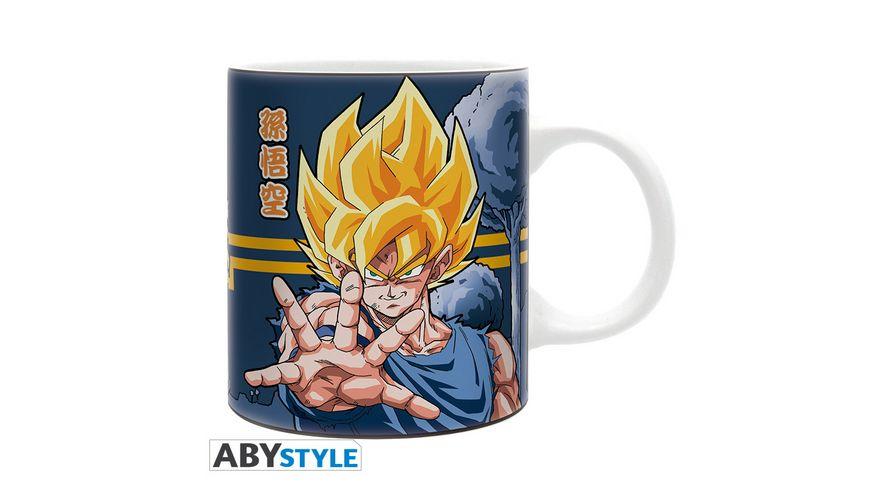 Dragon Ball Freeze vs Goku Tasse 320 ml
