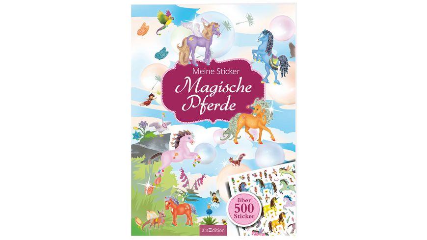 Meine Sticker Magische Pferde