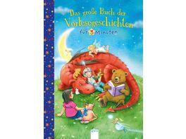 Buch ARENA Das grosse Buch der Vorlesegeschichten fuer 3 Minuten