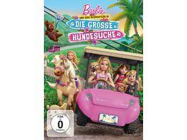 Barbie und ihre Schwestern in Die grosse Hundesuche Sonderedtion mit Dekokette DVD