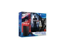 PS4 Konsole 1 TB mit drei Spielen