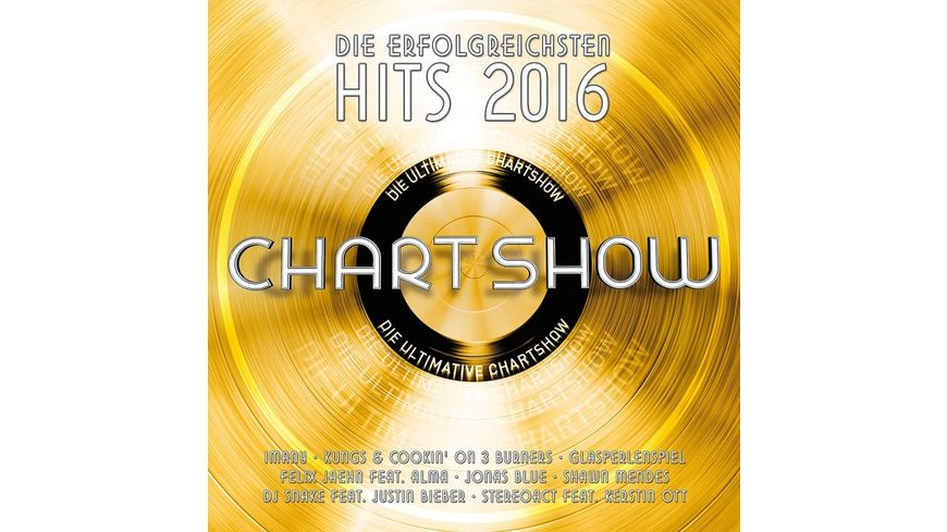 Die Ultimative Chartshow Hits 2016