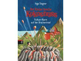 Buch cbj Verlag Der kleine Drache Kokosnuss Vulkan Alarm auf der Dracheninsel