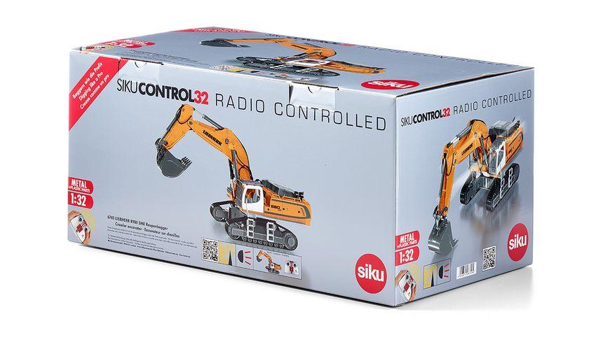 SIKU 6740 Control 32 Liebherr R980 SME Raupenbagger