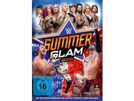 WWE Summerslam 2016 DVD