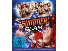 WWE Summerslam 2016 Blu ray Disc
