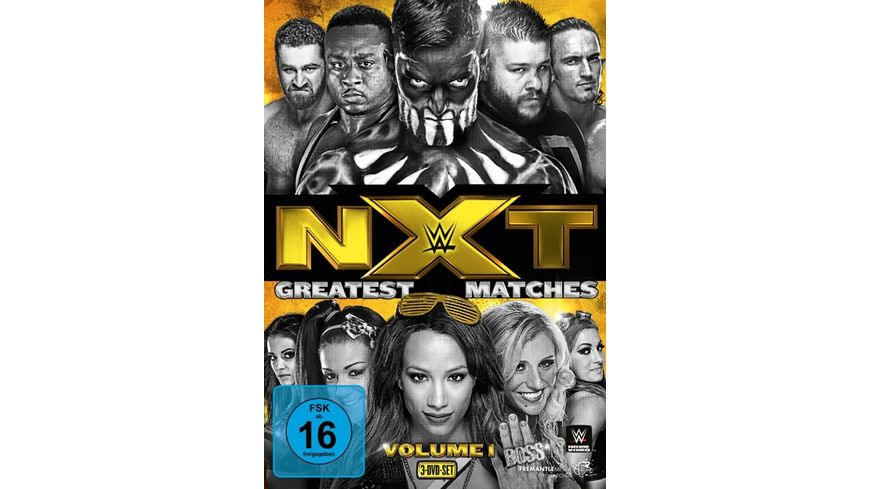 WWE NXT Greatest Matches Vol 1 DVD
