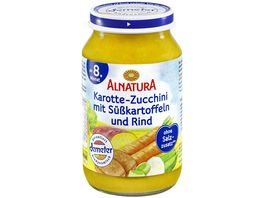 Alnatura Karotte Zucchini Suesskartoffel Rind