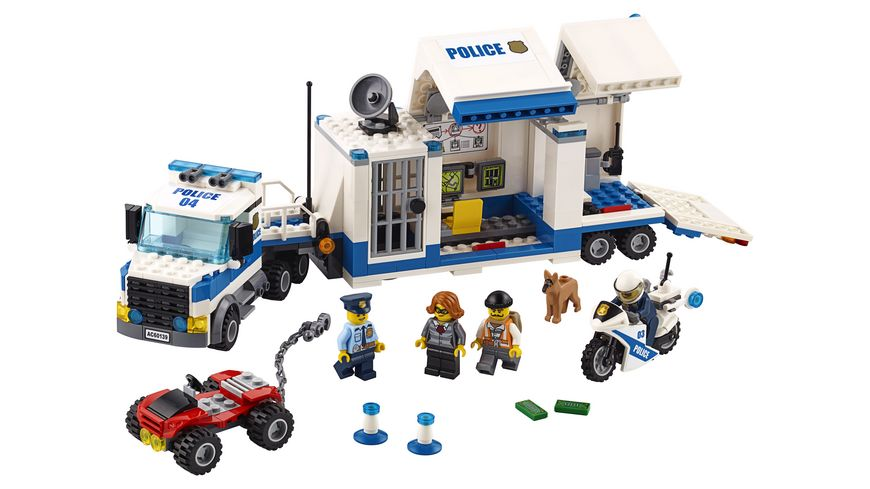 LEGO City 60139 Mobile Einsatzzentrale
