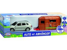 Mueller Toy Place Auto mit Anhaenger