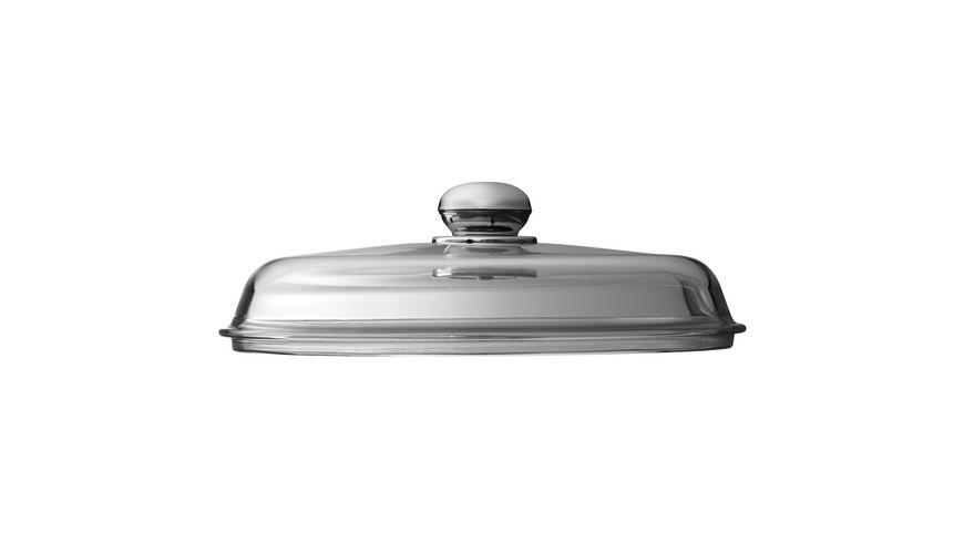Silit Glasdeckel mit Metallgriff 28 cm