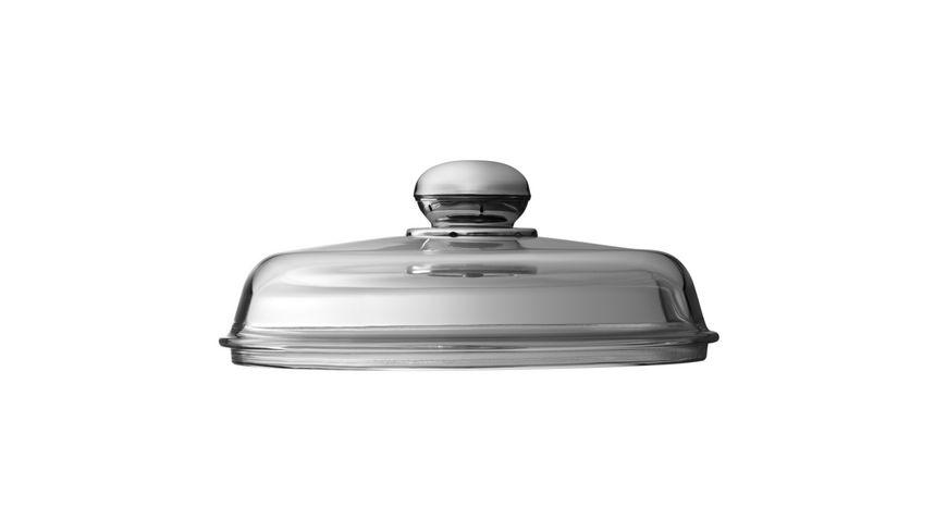 Silit Glasdeckel mit Metallgriff 24 cm