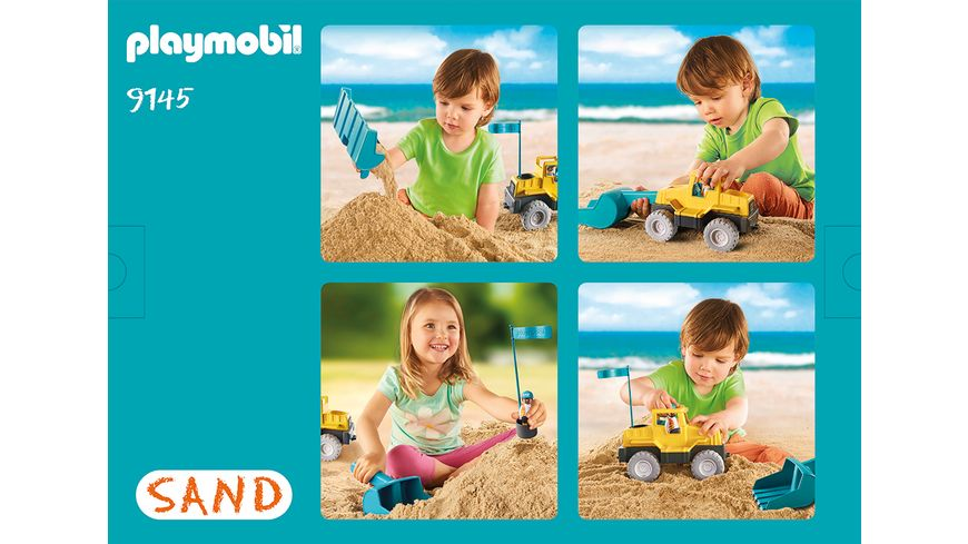 PLAYMOBIL 9145 Sand Schaufelbagger