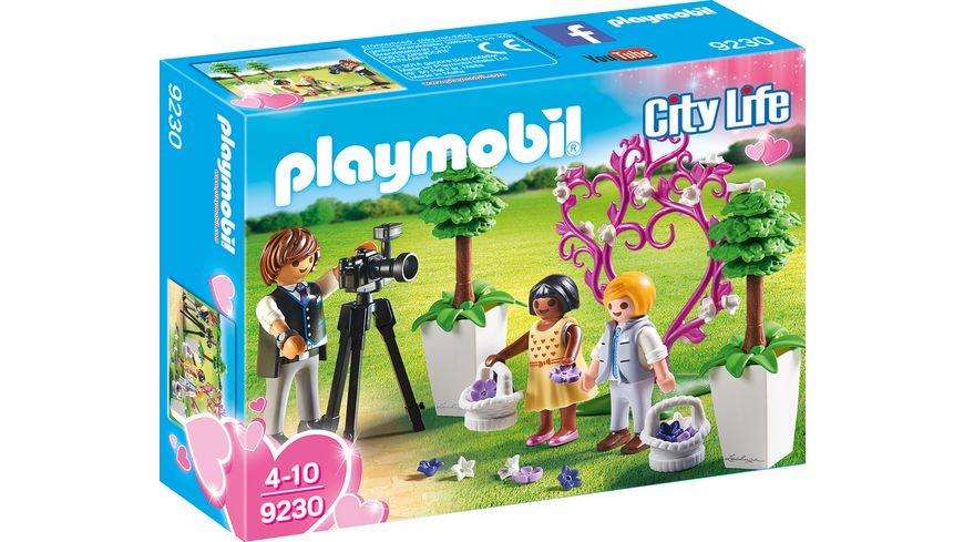 PLAYMOBIL 9230 City Life Fotograf mit Blumenkindern