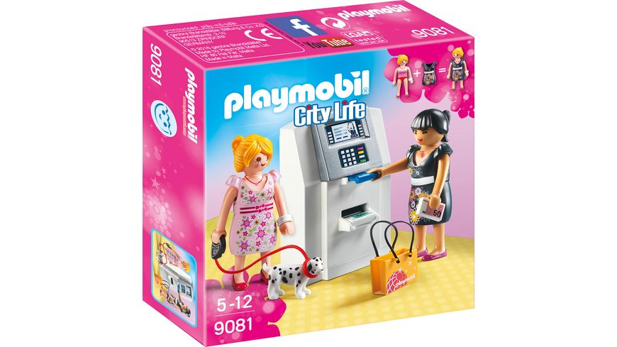 PLAYMOBIL 9081 City Life Geldautomat