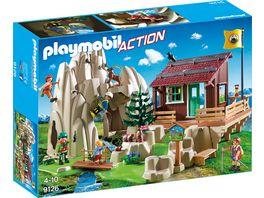 PLAYMOBIL 9126 Action Kletterfels mit Berghuette
