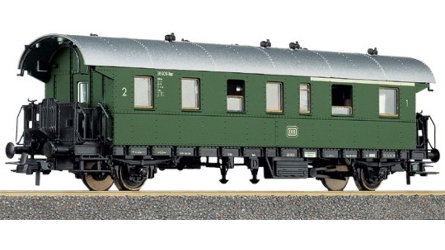 Roco H0 1 2 Klasse Personenwagen der DB Donnerbuechse