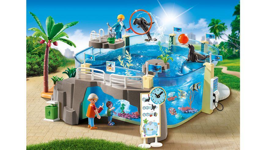 PLAYMOBIL 9060 Family Fun Meeresaquarium