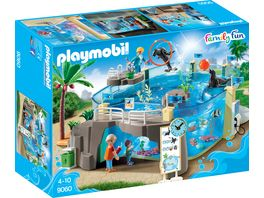 PLAYMOBIL 9060 Family Fun Meeresaquarium