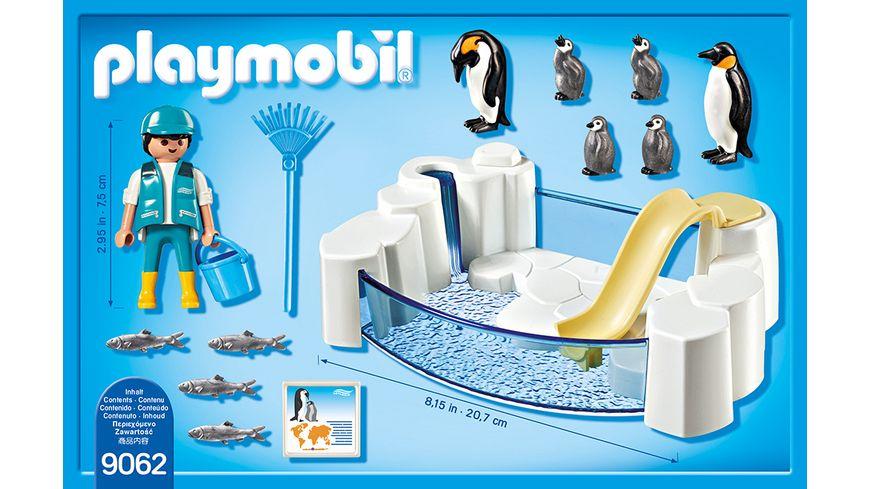 PLAYMOBIL 9062 Family Fun Pinguinbecken